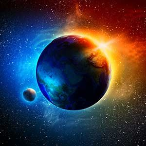 Online Earth and Space Science Course